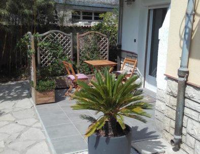 Terrasse appartement 2 pièces