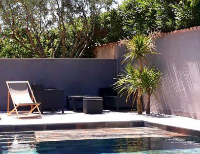 Salon piscine appartements