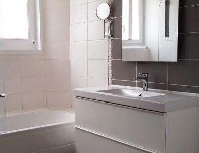 Salle de bains appartement 3 pièces