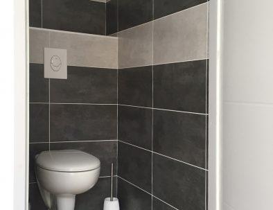 Toilettes appartement 2 pièces